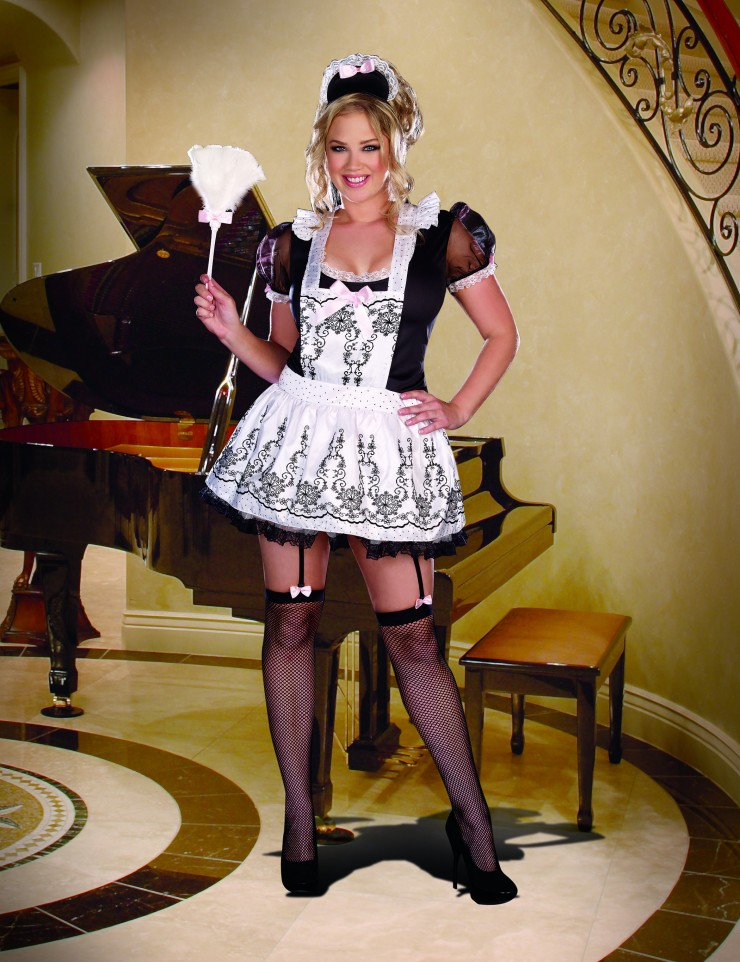 Womens French Maid Costume Maid To Order Plus Size By Dreamgirl
