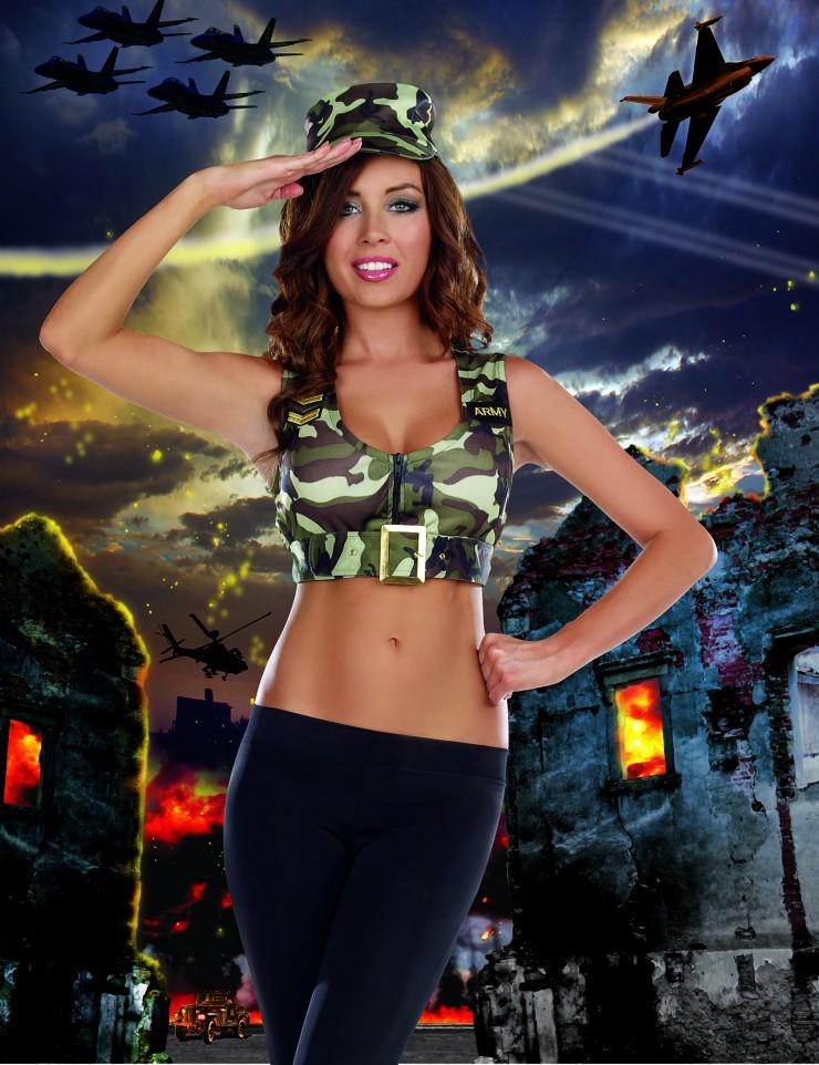 Sexy Military Costume